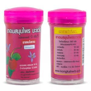 Тайские травяные драже Kongka от кашля и боли в горле с паслёном, 125 шт