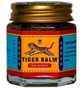 Тайский бальзам «Красный тигр» Red Tiger Balm, 30 гр