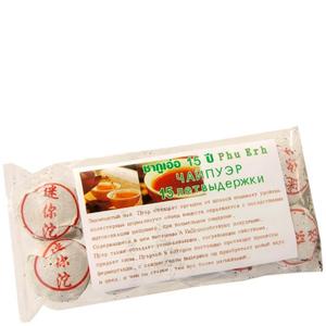 Тайский черный чай Пуэр (15 лет выдержки), 10 шт