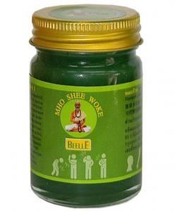 Тайский Зеленый бальзам для массажа Mho Shee Woke, 50 мл