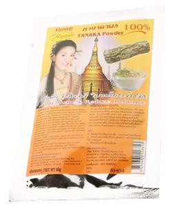 Традиционная тайская маска для лица с пудрой дерева танака ISME, 20 гр