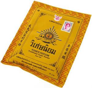 Традиционная тайская зубная паста-порошок Viset Niyom, 20 гр