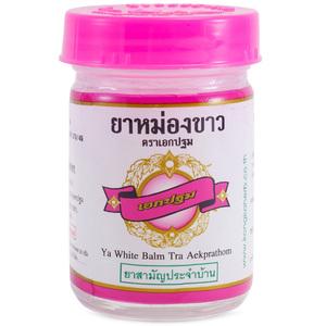 Традиционный белый массажный бальзам Kongka Balm, 50 гр