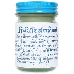 Традиционный белый тайский бальзам Osotthip, 120 гр