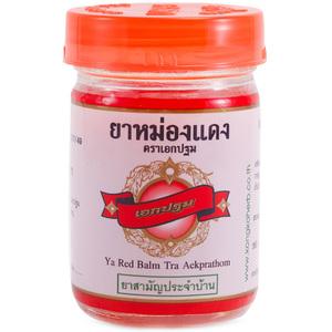 Традиционный красный массажный бальзам Kongka Balm, 50 гр