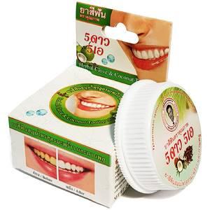 Травяная зубная паста с экстрактом кокоса и гвоздики 5star5a, 25 гр