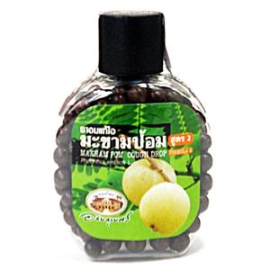 Травяные драже от кашля с эмбликой Abhaibhubejhr Makham Pom cough drop, 150 шт