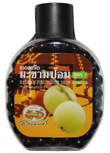 Травяные драже от кашля с эмбликой Abhai Makham Pom Cough Drop, 150 шт