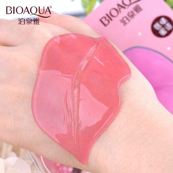 Увлажняющая маска для губ с коллагеном BioAqua