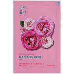 Увлажняющая маска с маслом дамасской розой Holika Holika Pure Essence, 20 мл