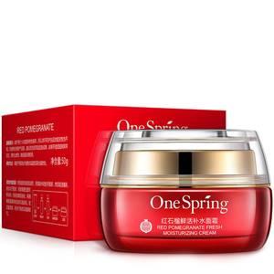 Увлажняющий крем для лица с гранатом One Spring Pomegranate, 50 гр