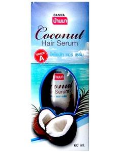 Восстанавливающая сыворотка для волос Banna с экстрактом кокоса, 60 мл