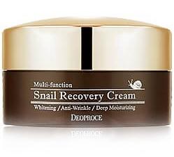 Восстанавливающий крем с муцином улитки Deoproce Snail Recovery Cream, 100 гр