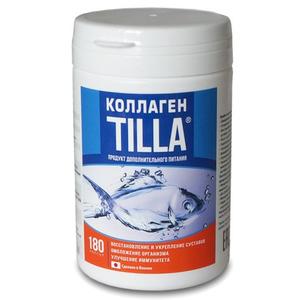Высококонцентрированный морской коллаген Kanda Tilla Caps, 180 шт