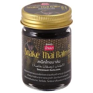 Змеиный бальзам Snake Thai balm Banna, 50 гр