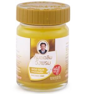 Золотой бальзам с имбирем касумунар Wang Prom Gold Hot Balm, 50 мл