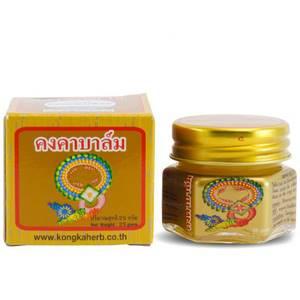 Золотой тайский бальзам с горным имбирем Kongka Balm, 25 гр