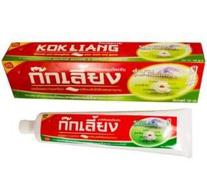 Зубная паста для чувствительных зубов Kokliang Chinese Herbal Toothpaste, 100 гр