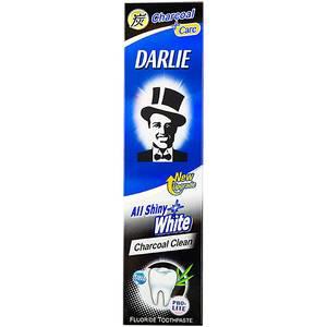 Зубная паста с бамбуковым углём Darlie All Shiny White Charcoal, 90 гр