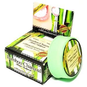 Зубная паста с бамбуковым углем Rochjana Bamboo Charcoal, 30 гр