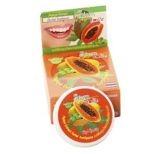 Зубная паста с экстрактом папайи Thai Kinaree, 25 гр