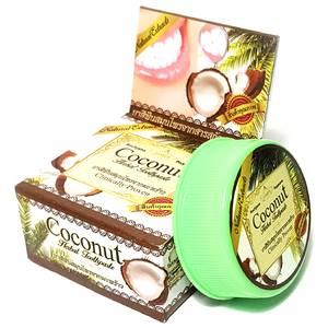 Зубная паста с экстрактом кокоса Rochjana Coconut, 30 гр