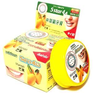 Зубная паста с экстрактом манго 5star4a Mango, 25 гр