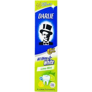 Зубная паста с мятой и лимоном Darlie All Shiny White Lemon Mint, 40 гр